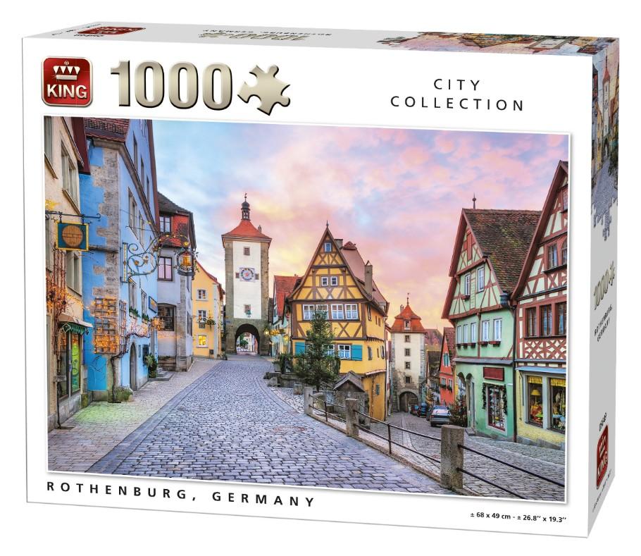 Rothenburg ob der Tauber 1000 piece jigsaw puzzle