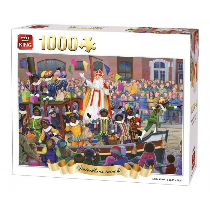Sinterklaas intocht Puzzle 1000pieces