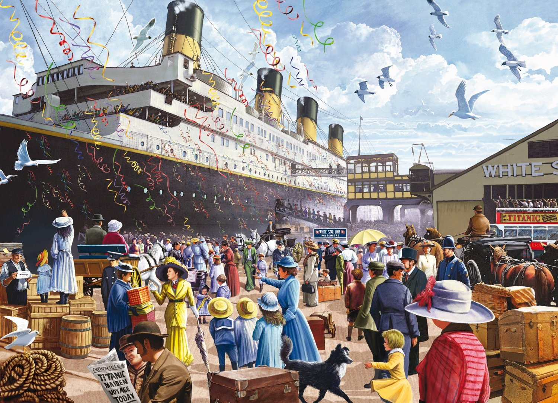 Titanic 1000 piece jigsaw puzzle