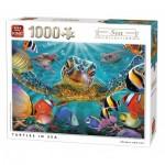 Puzzle   Turtles in Sea