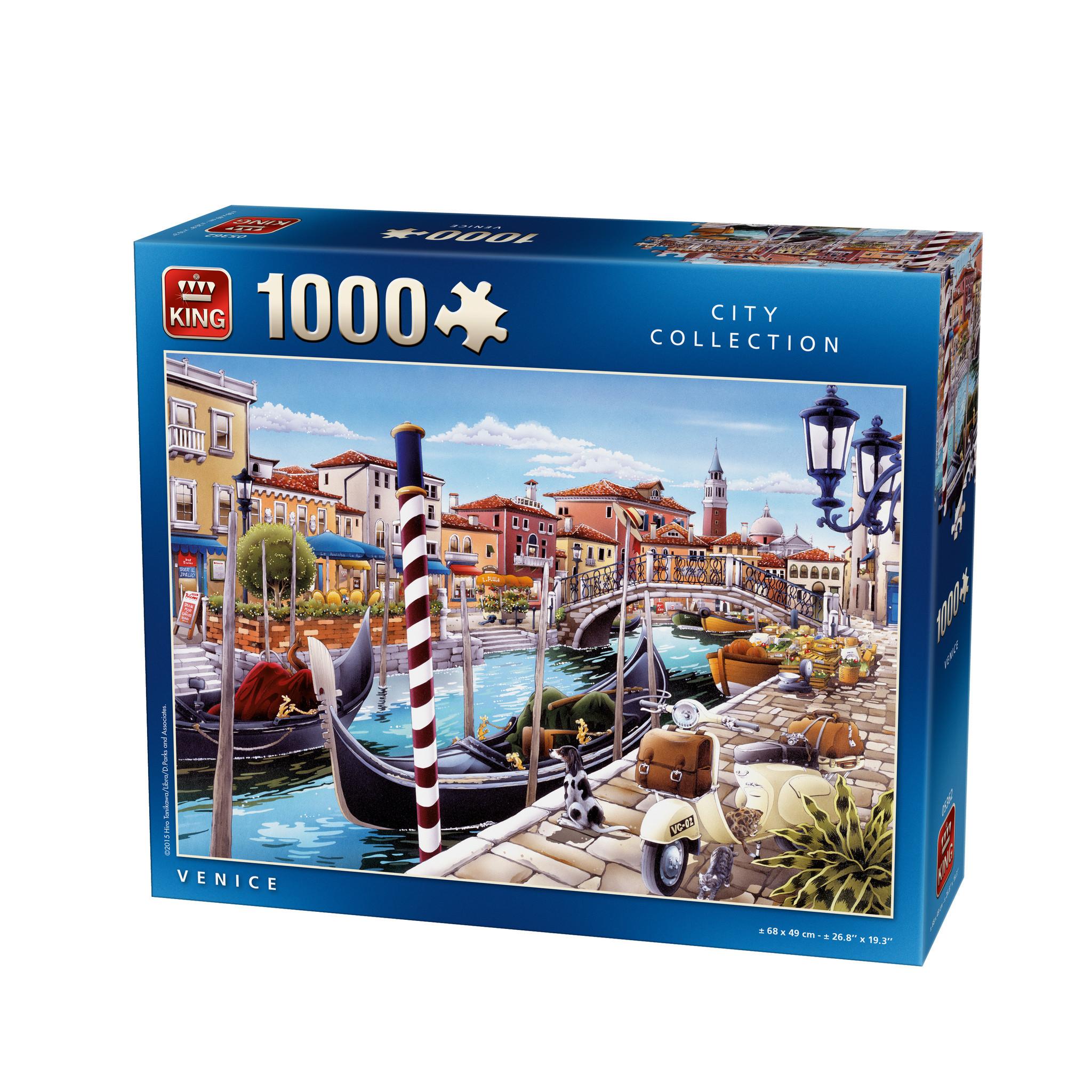 puzzle venice kingpuzzle05362 1000 pieces jigsaw puzzles
