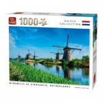 Puzzle   Windmills Kinderdijk Netherlands