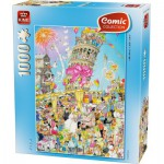 Puzzle  King-Puzzle-05187 Pisa Tower