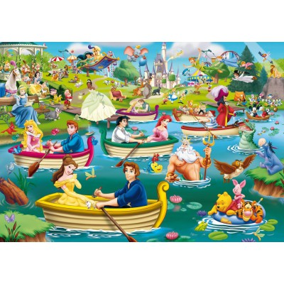 Puzzle King-Puzzle-05260 Disney, Fun on The Water