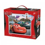 King-Puzzle-05270 Floor Puzzle - Cars