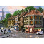 Puzzle  King-Puzzle-05357 Dominic Davison: Paris Street