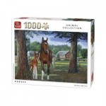 Puzzle  King-Puzzle-05386 Horses