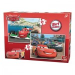 King-Puzzle-05415 2 Jigsaw Puzzles - Cars