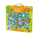 King-Puzzle-05441 Floor Puzzle - Kiddy ABC