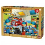 Puzzle  King-Puzzle-05457 Kiddy Construction
