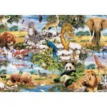 Puzzle  King-Puzzle-05481 Wild Animals