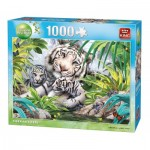 Puzzle  King-Puzzle-05486 Siberian Tigers