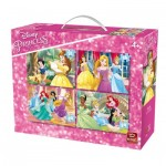 King-Puzzle-05509 4 Jigsaw Puzzles - Disney Princess