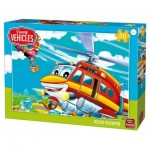 Puzzle  King-Puzzle-05519 Rescue Helicopter