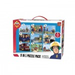 King-Puzzle-05642 9 Jigsaw Puzzles - Fireman Sam