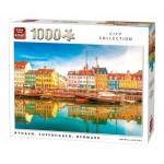 Puzzle  King-Puzzle-05704 Nyhavn, Copenhaguen, Denmark