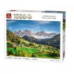 Puzzle  King-Puzzle-05708 Funes Valley, Tyrol, Italy