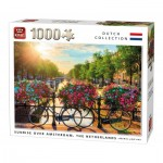 Puzzle  King-Puzzle-05721 Sunrise Over Amsterdam