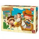 Puzzle  King-Puzzle-05789 Cow-Boys & Indians