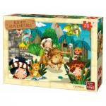 Puzzle  King-Puzzle-05792 Kiddy Adventure - Cavemen
