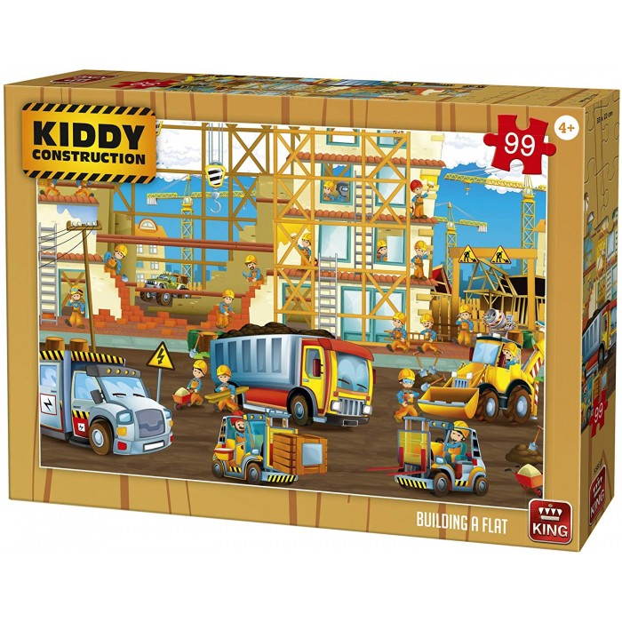 Kiddy Construction - Building a Flat