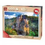 Puzzle  King-Puzzle-55844 XXL Pieces - Burg Eltz Castle