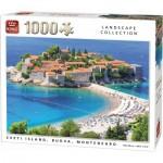 Puzzle  King-Puzzle-55950 Sveti Island, Budva, Montenegro