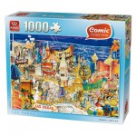 Puzzle  King-Puzzle-k05201 Comic Collection - Las Vegas