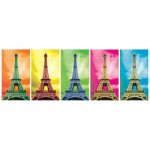 Puzzle  KS-Games-11223 Pop Art: Eiffel Tower