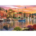 Puzzle  KS-Games-11308 Dominic Davison: Harbour Sunset