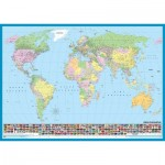 Puzzle  KS-Games-11332 World map (in Turkish)