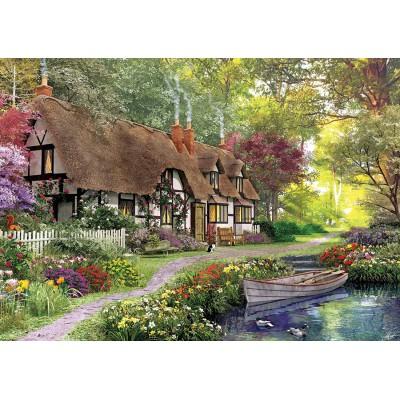 Puzzle KS-Games-11354 Dominic Davison: Cottage