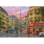 Puzzle  KS-Games-11357 Dominic Davison: Rue de Paris