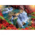 Puzzle  KS-Games-11466 Autumn Waterfall