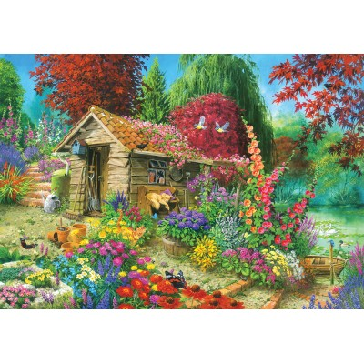 The Garden Shed - 1500 piece jigsaw puzzle