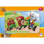 KS-Games-LT704 Frame Jigsaw Puzzle - Looney Tunes