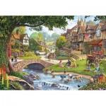 Puzzle   Summer Village Stream
