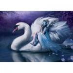 Puzzle   White Swan