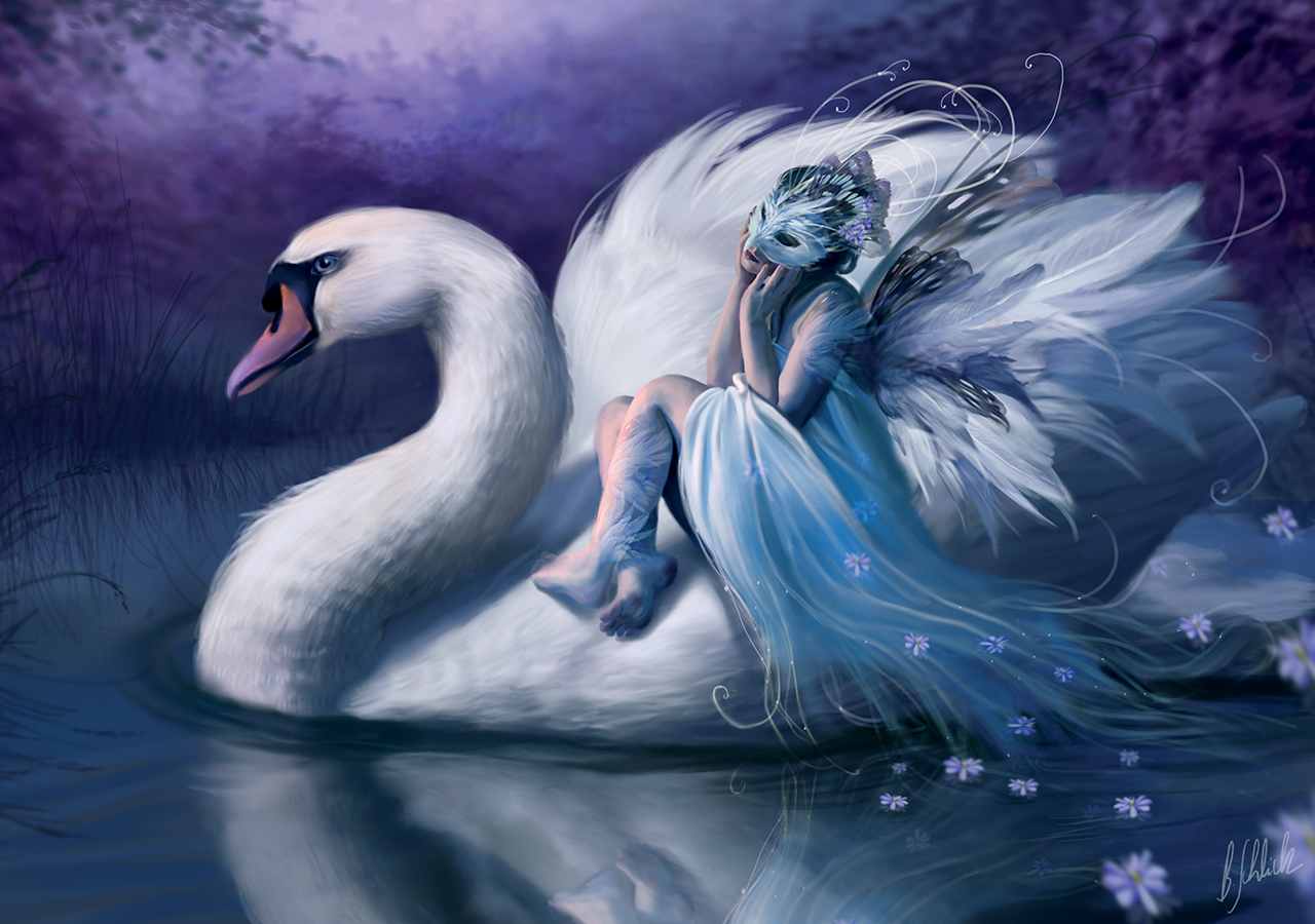 White Swan - 1500 piece jigsaw puzzle