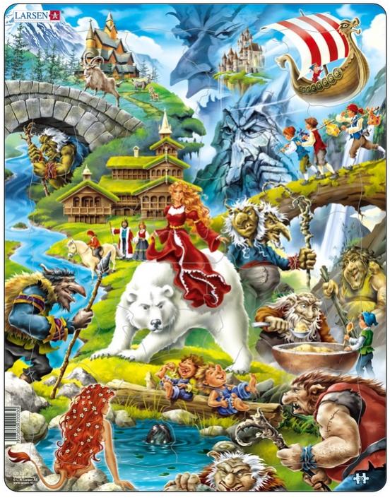 Puzzle Larsen-US23 30 Pieces Jigsaw Puzzles