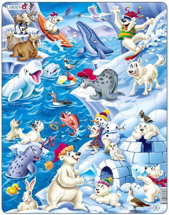 36 Piece Fall Winter Capsule Wardrobe: Puzzle Larsen-US28 36 Pieces Jigsaw Puzzles