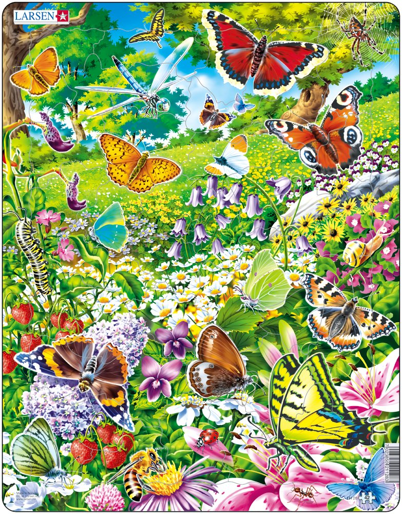 Puzzle Larsen Fh28 42 Pieces Jigsaw Puzzles Birds