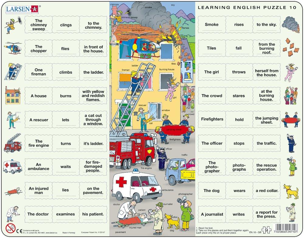 Puzzle Larsen EN10 54 Pieces Jigsaw Puzzles