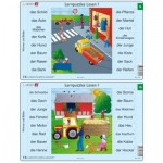 10 Frame Puzzles - Lernpuzzles Lesen I (in German)