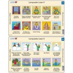 10 Frame Puzzles - Lernpuzzles Lesen II (in German)