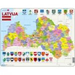 Larsen-A10 Frame Puzzle - Latvia