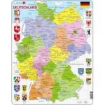 Larsen-A11-DE Frame Puzzle - Germany