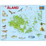 Larsen-A12 Frame Puzzle - Åland Islands