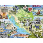 Larsen-A21-GB Frame Puzzle - Croatia