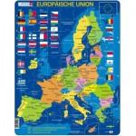 Larsen-A39-DE Frame Puzzle - Europäische Union (in German)